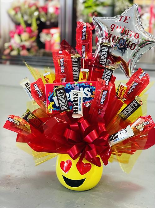 Emoji Candy Bouquet