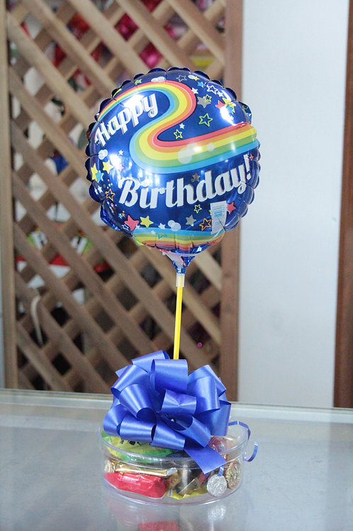 Mixed Candy With Balloon