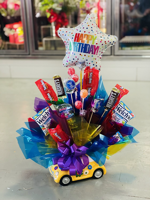 Buggy Candy Bouquet