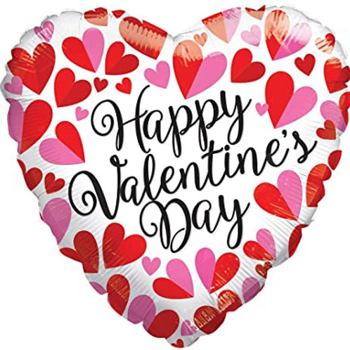 Valentine's Day Mylar Balloon