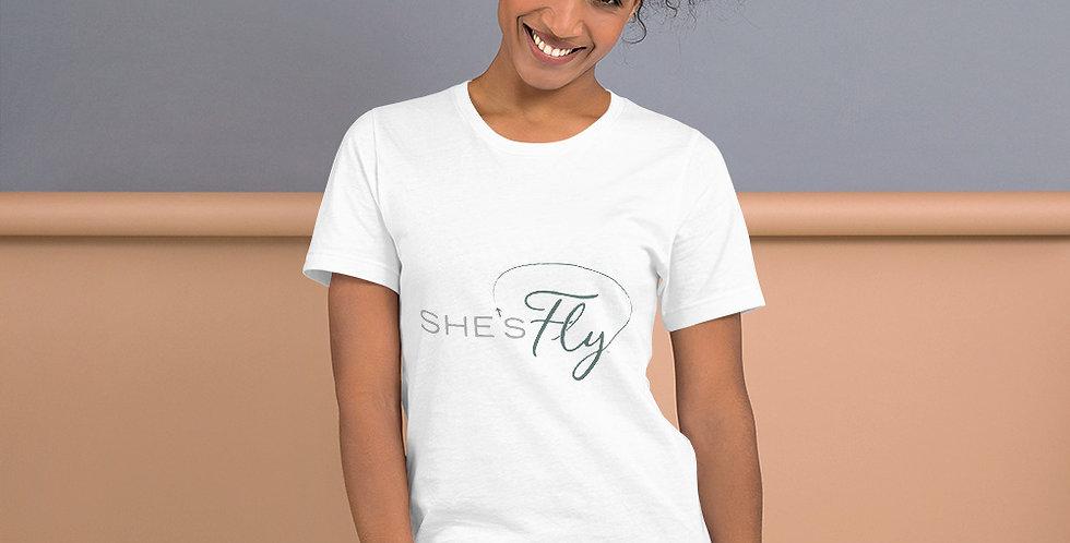 She's Fly Unisex Premium T-Shirt