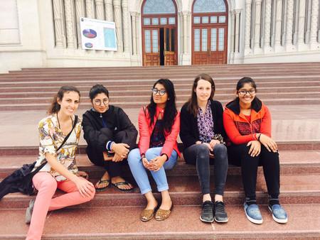 Visit at Mody University