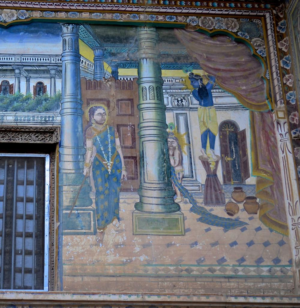Ill. 4: Haveli - Fatehpur - circa 1890