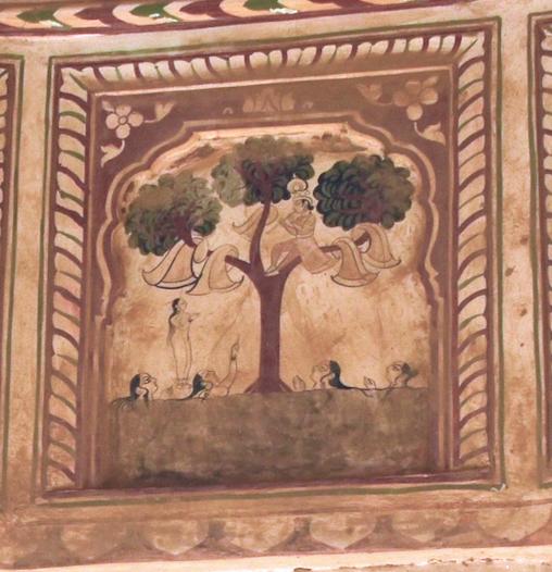 Ill. 5: Poddar chattris - Ramgarh – circa 1870