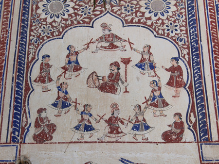 Dandiya Raas: the stick dance