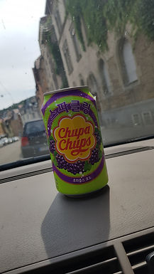 Chupa Chups Grape Soda Review