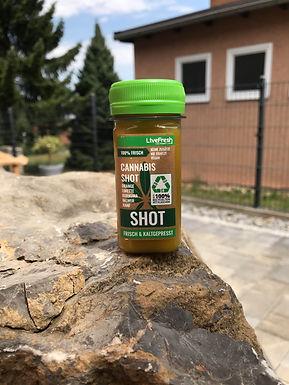 Live Fresh Cannabis Shot