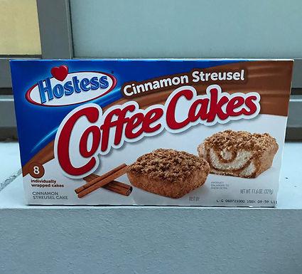 Hostess Cinnamon Streusel Coffee Cakes