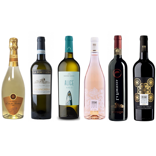 Proefpakket nieuwe wijnen voorjaar '21