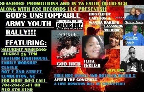 hip hop gospel flyer