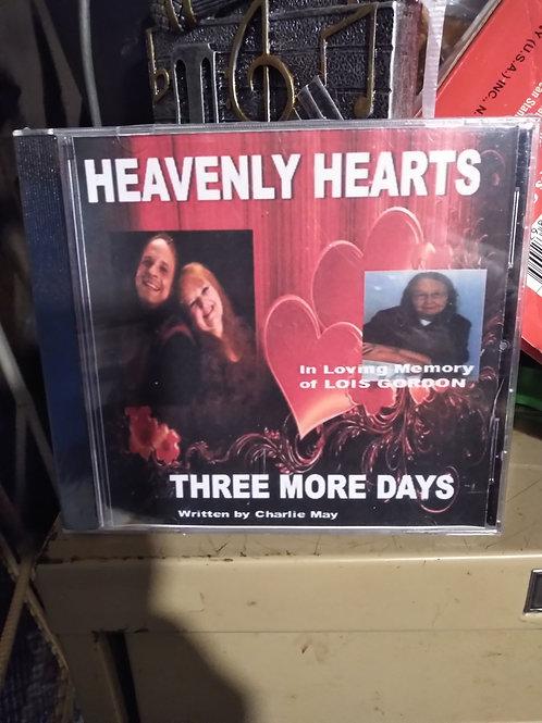 Three More Days - Heavenly Hearts CD Single