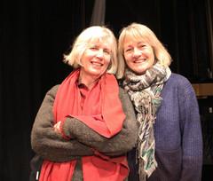 Daphne Astor and Helen Taylor