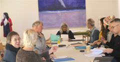REWRITING AND REDRAFTING  workshop with Mimi Khalvati