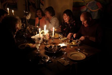 Pre Festival Supper with Jason Gathorne Hardy at the White House Farm