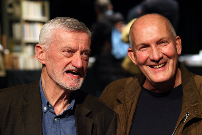 Bernard O'Donoghue and Chris McCabe