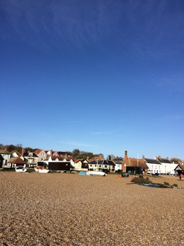 Aldeburgh from the sea