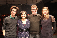 A CAMBRIDGE QUARTET OF FIRST COLLECTIONS  poets Rebecca Watts, Adam Crothers, Claudine Toutoungi and Alex Wong