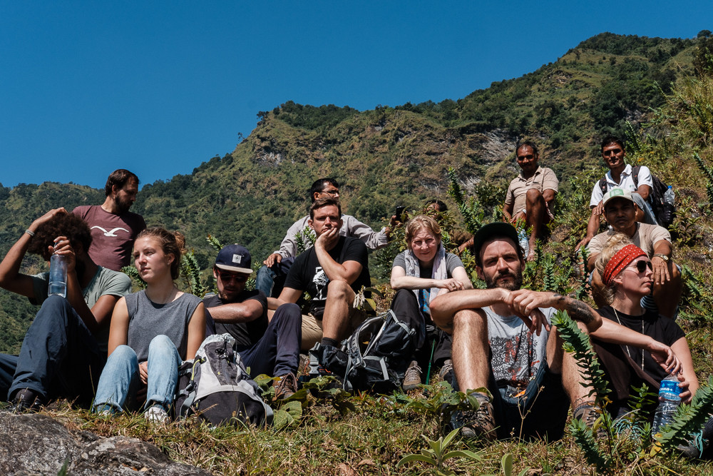 the intensity of the hike did surprise some of the crew
