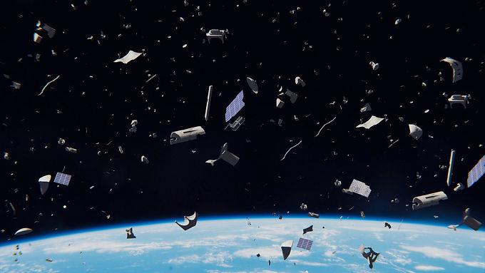 La basura espacial al acecho: así en el cielo como en la tierra