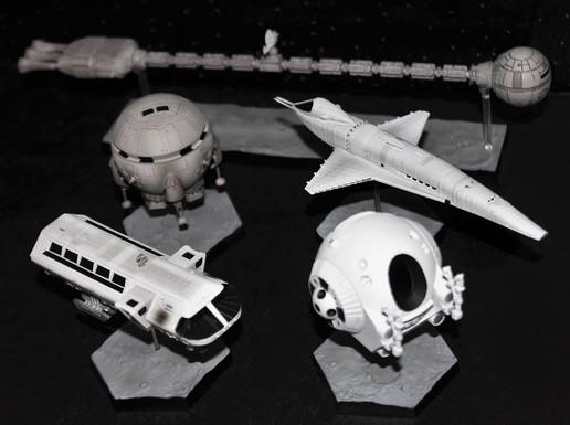 「2001年宇宙の旅」スペースシップ