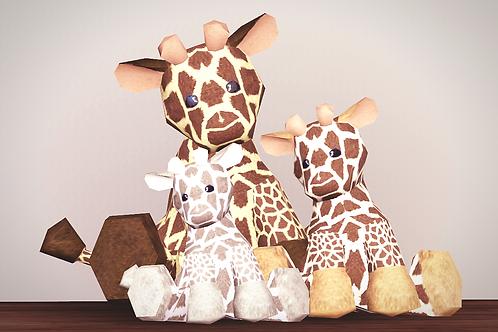 Snuggly George Giraffe Plush