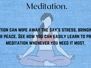 DIFFRENT WAYS OF MEDITATION