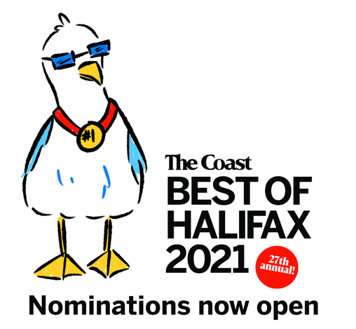 Promotional material for The Coast's annual Reader's Choice contest