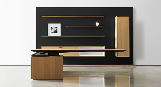 Halcon Furniture Halo Workstation Executive Desk Height Adjustable Table Frontier Workspace Solutions Hong Kong