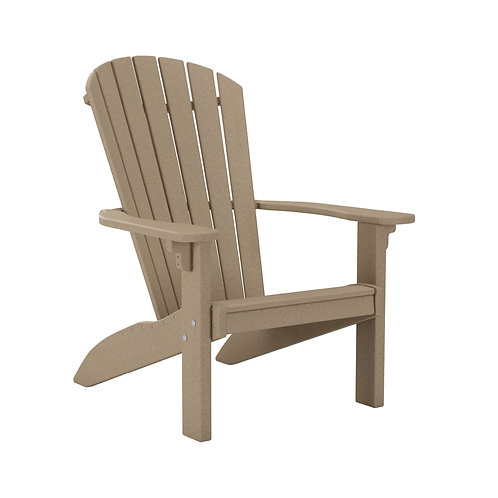 Adirondack Chair - Weatherwood