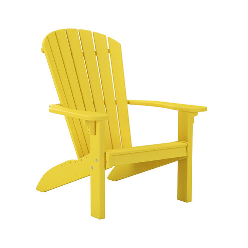 Adirondack Chair - Yellow