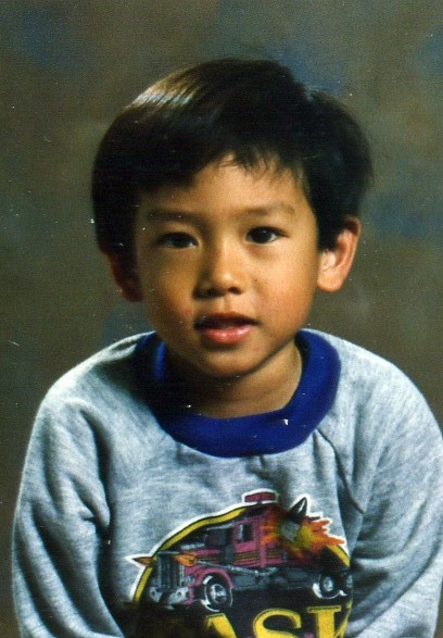 A young Tony Chang