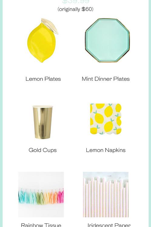 Lemon Party Kit