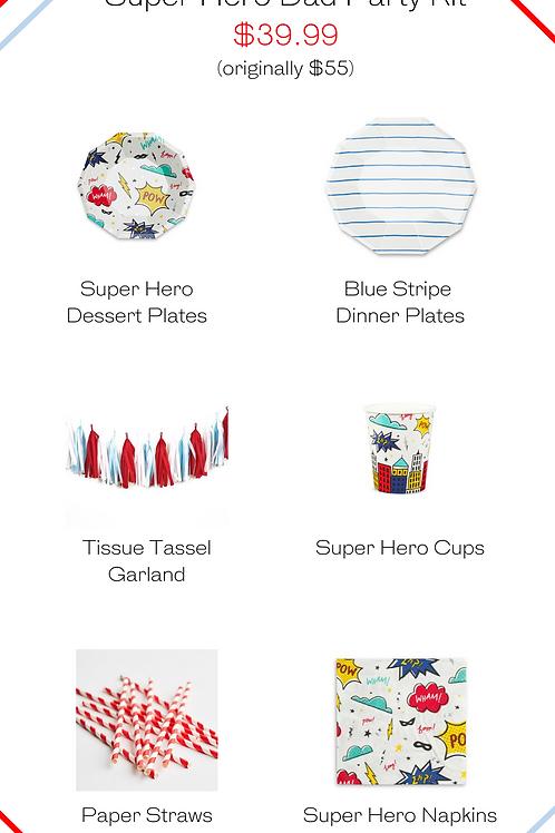 Super Hero Party Kit