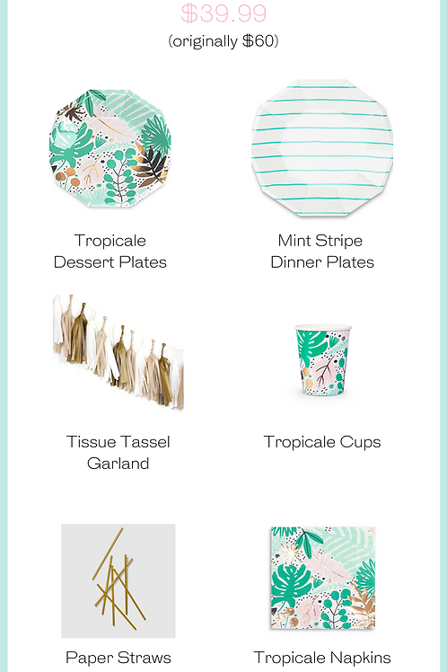 Tropicale Party Kit
