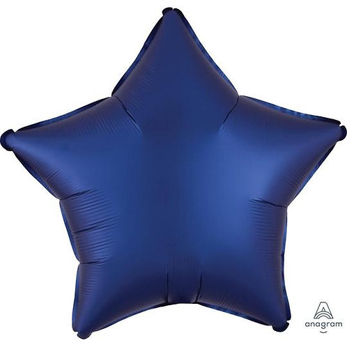 Satin Navy Star