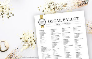 image regarding Oscar Ballots Printable named And the Oscar goes way too