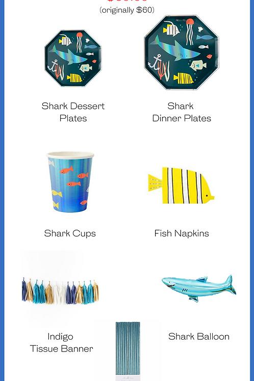 Shark Party Kit
