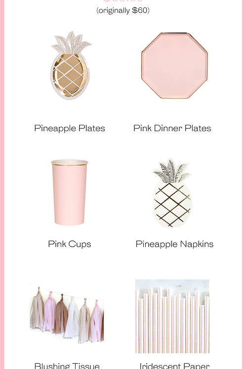 Pineapple Party Kit