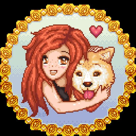 Personal Pixel art Gift