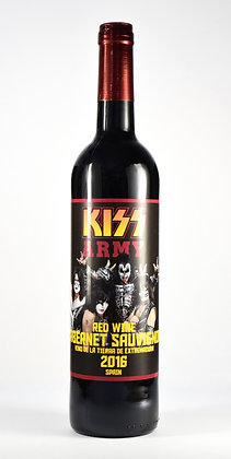 KISS Wine Red