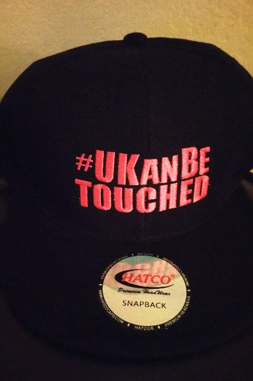 U KAN BE TOUCHED Snapbacks (Black & Pink)