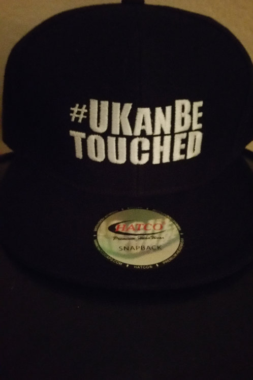 U KAN BE TOUCHED Snapbacks ( BLACK and WHITE)