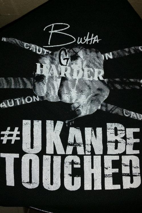 U KAN BE TOUCHED T-shirts (MEN) Black & White