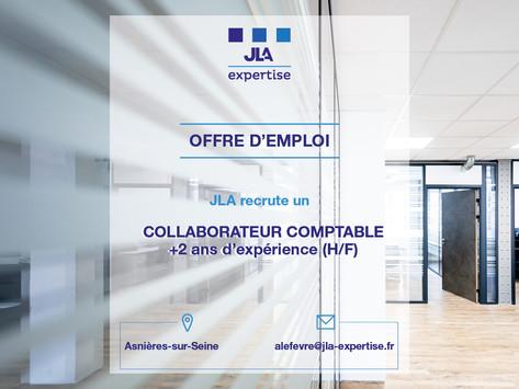 Recrutement collaborateur comptable en CDI