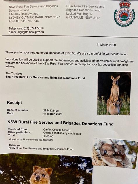 Fund Raiser for Australian
