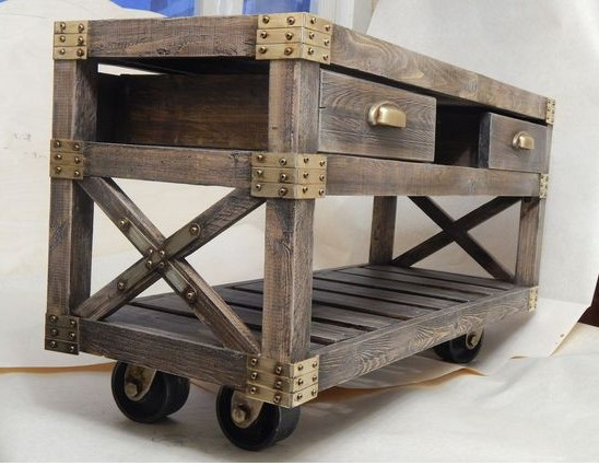 Брашированная мебель для дач, кафе, баров и ресторанов.