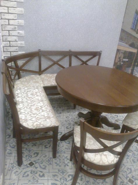 Столы и стулья из массива дуба