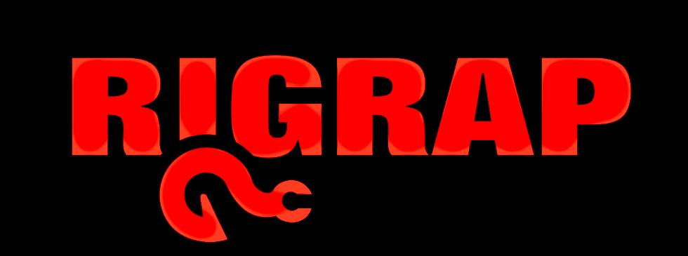 RIGRAP LOGO - BLACK