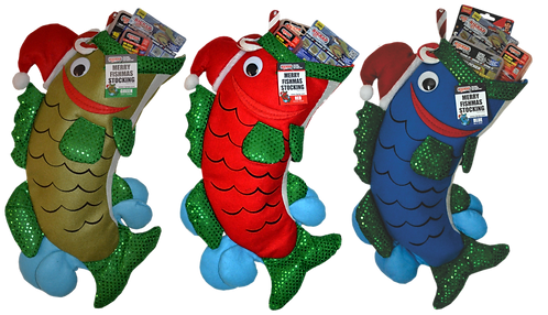 MERRY FISHMAS STOCKING 3 PACK
