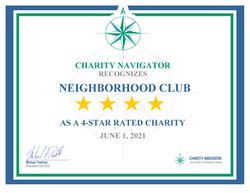 Neighborhood Club Earns Coveted 4-Star Rating from Charity Navigator